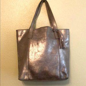Gold Soft Leather Bag